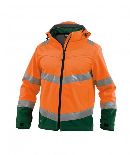 malaga_high-visibility-softshell-work-jacket_fluo-orange-bottle-green_front.jpg